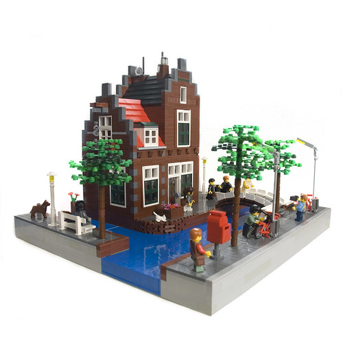 Lego Netherlands Canal House Dutch