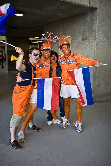 Festive Dutch Fans