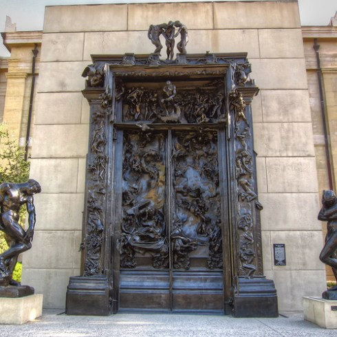 Rodin's Gates of Hell @ Stanford