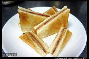 [西餐]三明治類 煎火腿乳酪三明治