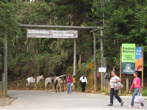 The entrance to Piedras Blancas