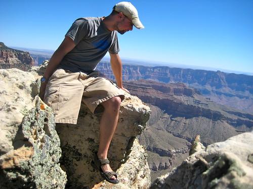 Grand Canyon - My little rock ledge