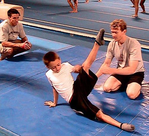 Kyle Shewfelt at Go For It Gymnastics, Vegas