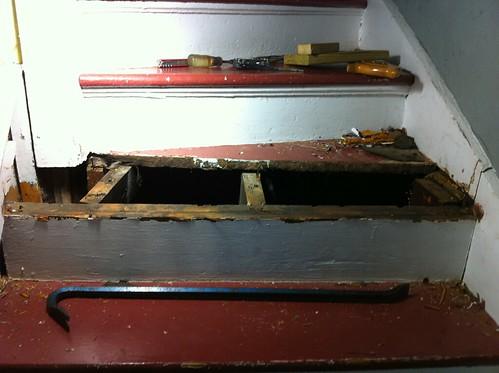 More stairs repair