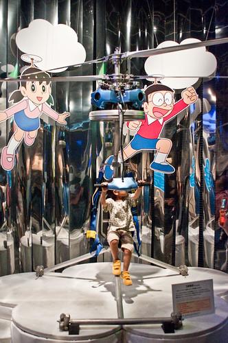 Teknologi Helikopter dalam Komik Doraemon