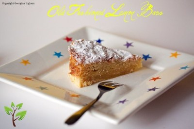 Sticky Lemon Bar