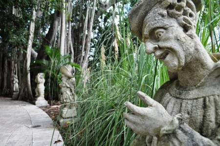 Dwarf Garden at Ringling Museum, Sarasota, Fla.