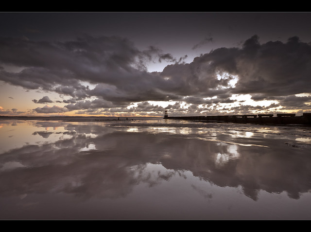 Mud. Crosby beach. Explored!