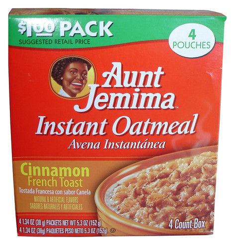 Aunt Jemima Cinnamon French Toast Instant Oatmeal
