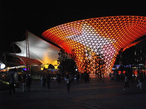 Shanghai World Expo: PROMENADE AT NIGHT