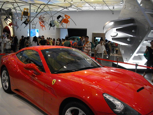 Shanghai World Expo: Ferrari at Italy Pavilion