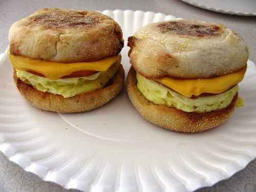 Home-made McMuffins