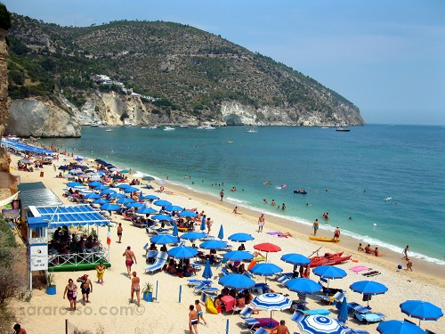 Matinatella beach in Puglia