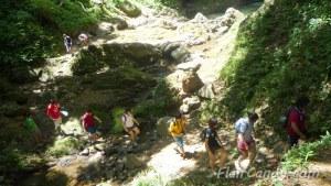 Hiking Kabigan Falls
