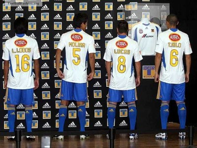 Tigres Uanl Adidas  Away Jersey Camiseta Football Fashion Org