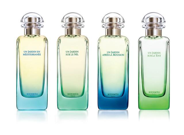 Collection des Parfums- Jardins Hermes