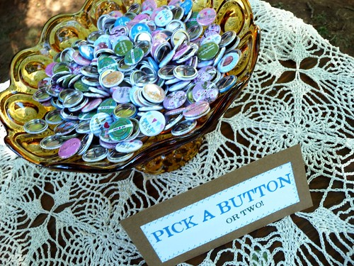 custom buttons for fun & merriment
