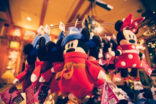 Mickey Mouse Toys at Disneyland