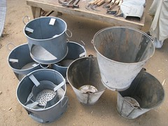 Stoves &amp; buckets
