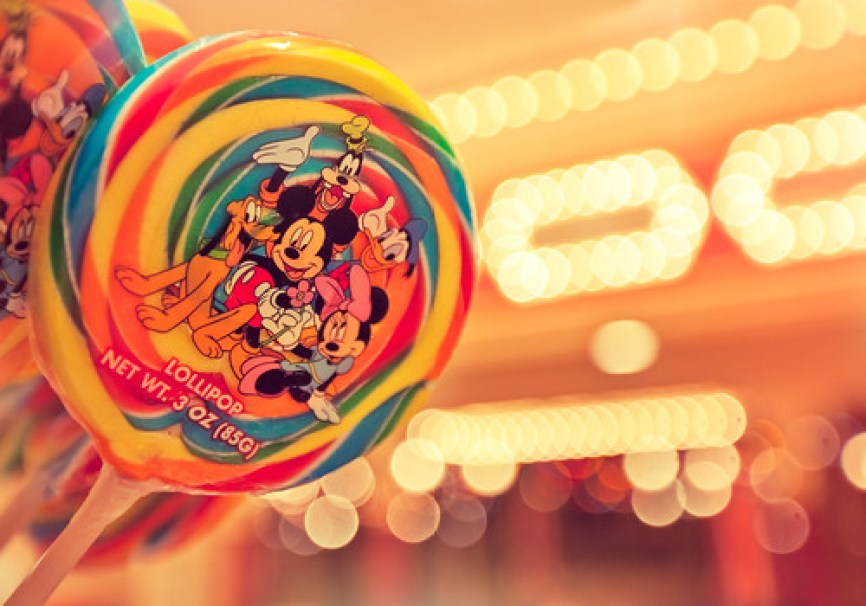 Disneyland Lollipop Bokeh