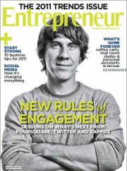 Hey, they put me on the cover of Entrepreneur magazine! @chelsa is psyched cause she gave me that haircut! Ha!