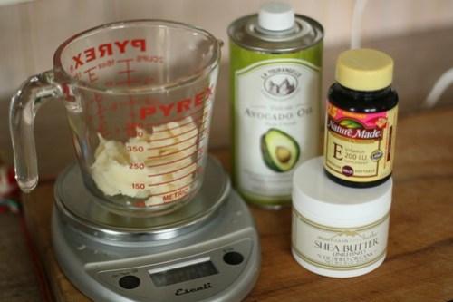 Shea Butter Lotion Recipe