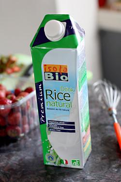 Isola rice milk