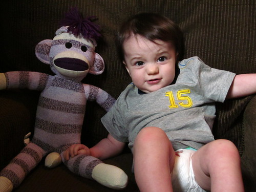 Nobody here but me and my monkey