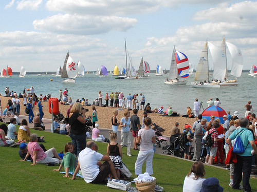 Cowes Week - sun, sea, spectators and some sailing