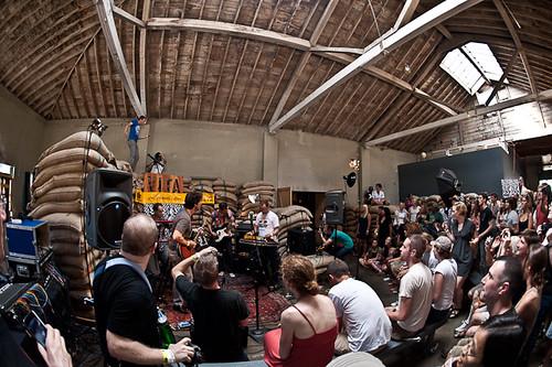 2010.07.24: !!! @ Capitol Hill Block Party - Caffe Vita Bean Room, Seattle, WA