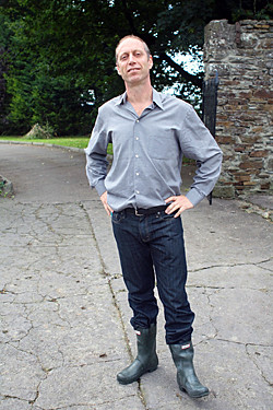 david in wellies