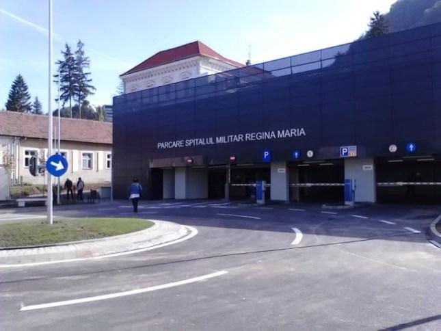 Parcarea de la Spitalul Militar, promovată prin centru