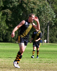 Troy Luff for Balmain Tigers V Norwest Sydney AFL May 2017 00016