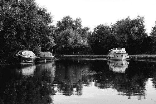 Boat on the Cam