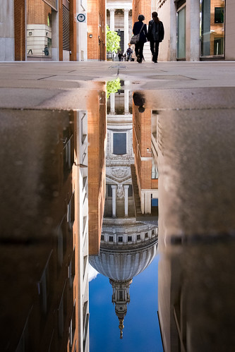 Reflections of St. Paul's Cathedral