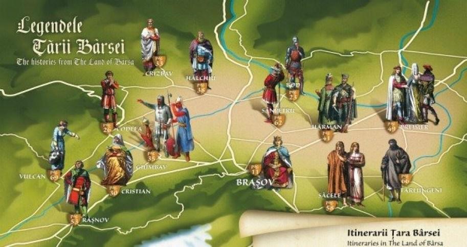 """""""Legendele Țării Bârsei"""" - Programul pentru luna iulie"""