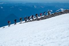 Mountaineers. Camp Muir