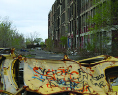 Packard Plant 2010, Detroit, Michigan