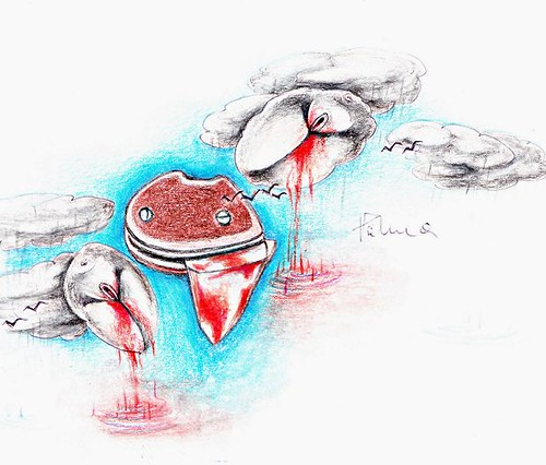 infibulation scar after sutures removed