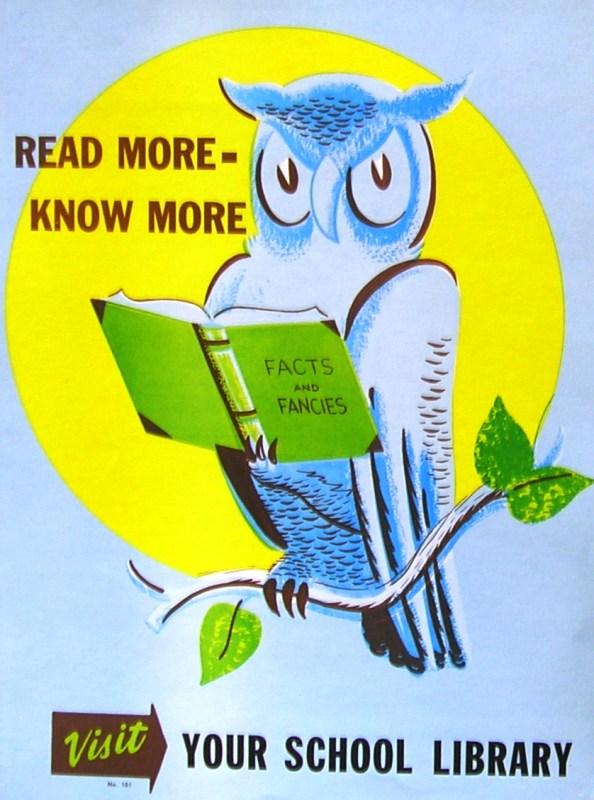 RETRO POSTER - Read More - Know More