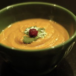 Pumpkin Cranberry Coconut Bisque