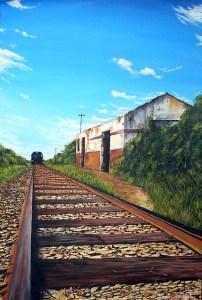Estação abandonada