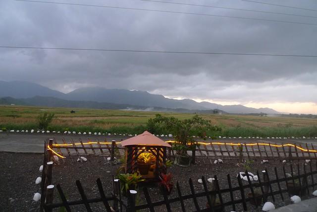 View from BergBlick restaurant, Pagudpud