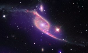 Galaxy Collision Switches on Black Hole (NASA, Chandra, 12/10/09)