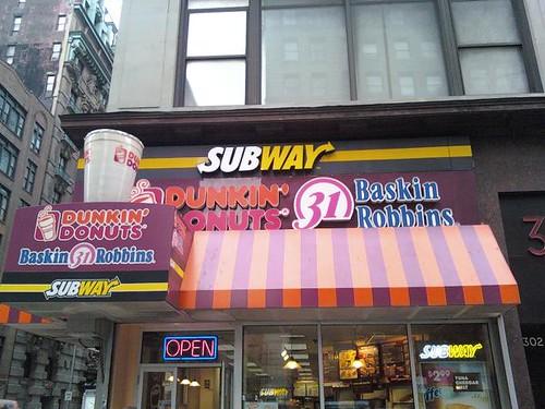 SubDunkinRobbins, NYC