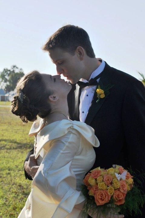 Heidi & Scott's Rustic Backyard DIY Wedding