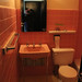 Waldorf Hotel | Many of the in-room bathrooms have been restored. But why would you want to with this gem?