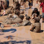 Mighty Mud Mania - Laying in the Mud