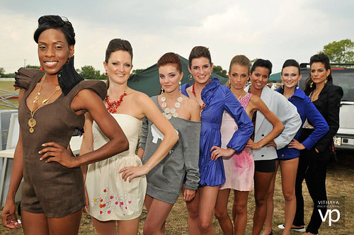 Runway Models for Green Cup of Polo Eco Fashion Show at Capital Polo Club by EmmeGirls
