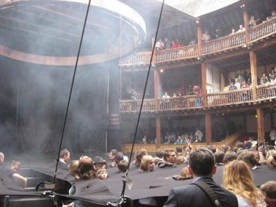 Macbeth at Globe awning 2841